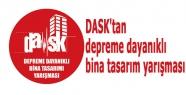 DASK'tan depreme dayanıklı bina tasarım yarışması