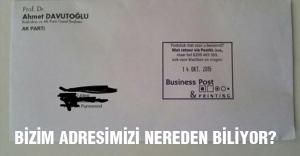 Davutoğlu, 'adresimiz nereden biliniyor' ?
