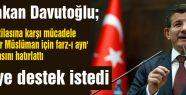 Davutoğlu 'Misak-ı Milli'de buluşma' çağrısı yaptı