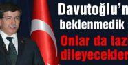 Davutoğlu'ndan beklenmedik soru!
