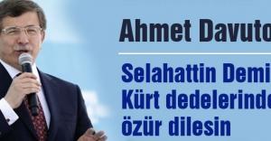 'Demirtaş Kürt dedelerinden özür dilesin'