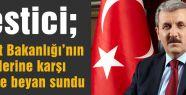 Destici, Adalet Bakanlığı'nın görüşlerine karşı AYM'ye beyan sundu