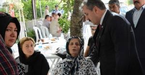 Destici: Şehit annesine hakaret edenler en şerefsiz insanlarıdır
