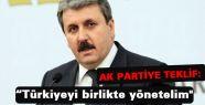 Destici; Türkiye'yi Birlikte Yönetelim