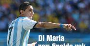 Di Maria yarı finalde yok
