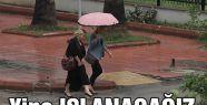 Dikkat! kuvvetli yağış geliyor...