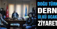 Doğu Türkistan Derneğinden Ülkü Ocaklarına ziyaret