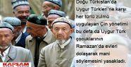 Doğu Türkistan'da Ramazan Yasakları