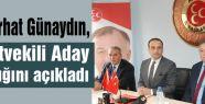 Dr. Ferhat Günaydın, MHP'den Aday Adaylığını Açıkladı