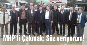Düzce MHP Adayı:Söz veriyorum!