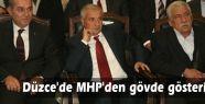 Düzce'de MHP'den gövde gösterisi