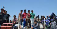 Ege Denizi'nde 45 kaçak yakalandı