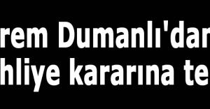 Ekrem Dumanlı'dan Tahliye kararına tepki