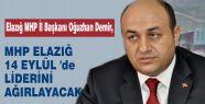 Elazığ'da MHP Mitinge hazırlanıyor