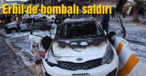 Erbil'de bombalı saldırı
