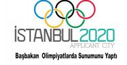 Erdoğan 2020 olimpiyatları için konuşmasını yaptı