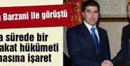 Erdoğan Barzani görüşmesi