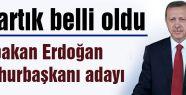 Erdoğan cumhurbaşkanı adayı...