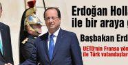 Erdoğan Hollande ile bir araya geldi