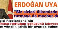 Erdoğan Samsun'da Uyardı!