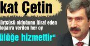 """""""Erdoğan'a verilen her oy kürtçülüğe hizmettir"""""""