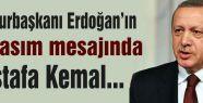 Erdoğan'dan 10 Kasım...