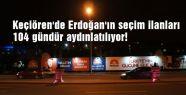 Erdoğan'ın Seçim ilanlarına aydınlatma...
