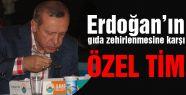 Erdoğan'ın zehirlenmesine karşı özel tim