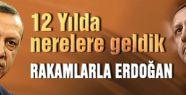 Erdoğan'la 12 yılda nereye geldik