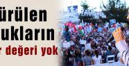 Erdoğan: Öldürülen çocukların haber değeri yok