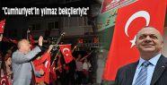 """Ergün, """"Cumhuriyet'in yılmaz bekçileriyiz"""""""