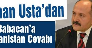 Erhan Usta'dan Ali Babacan'a Yunanistan Cevabı