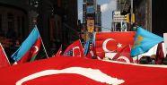 Ermeni iddiaları protesto edildi...