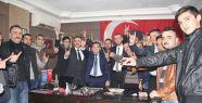 Eryılmaz'dan İlk Ziyaret Ülkü Ocaklarına