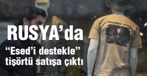 """""""Esed'i destekle"""" tişörtü satışa çıktı"""