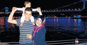 Eşinin ve çocuğunun yanında şehit ettiler