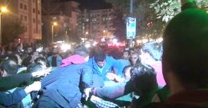 Eskişehir'de polisle eylemciler tekme tokat birbirine girdi