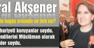 Etkinlikte Meral Akşener Rüzgarı...