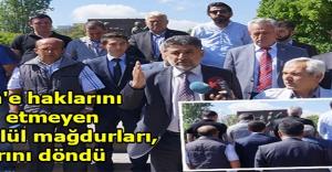 Evren'e haklarını helal etmeyen 12 Eylül mağdurları, sırtlarını döndü
