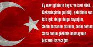 Ey mavi göklerin beyaz ve kızıl süsü…