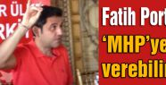 Fatih Portakal MHP'ye Oy Verebilirim