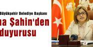 Fatma Şahin'den suç duyurusu