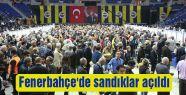 Fenerbahçe'de sandıklar açıldı
