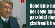 Fikri Sağlar, Türkiye şizofrenik bir hal yaşıyor