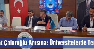 Fırat Çakıroğlu Anısına: Üniversitelerde Terör...