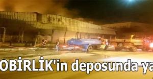 FİSKOBİRLİK'in deposunda yangın