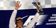 Formula 1'in yeni lideri Hamilton