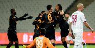 Galatasaray kupada güldü