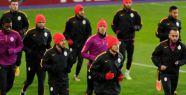 Galatasaray son antrenmanını yaptı
