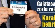 Galatasaray'a zorlu rakipler